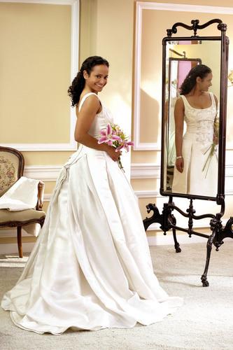Carla in a Wedding Dress (HUGE)