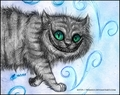 Cheshire cat  - alice-in-wonderland-2010 fan art
