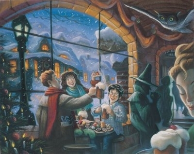 क्रिस्मस Cheer and Butterbeer