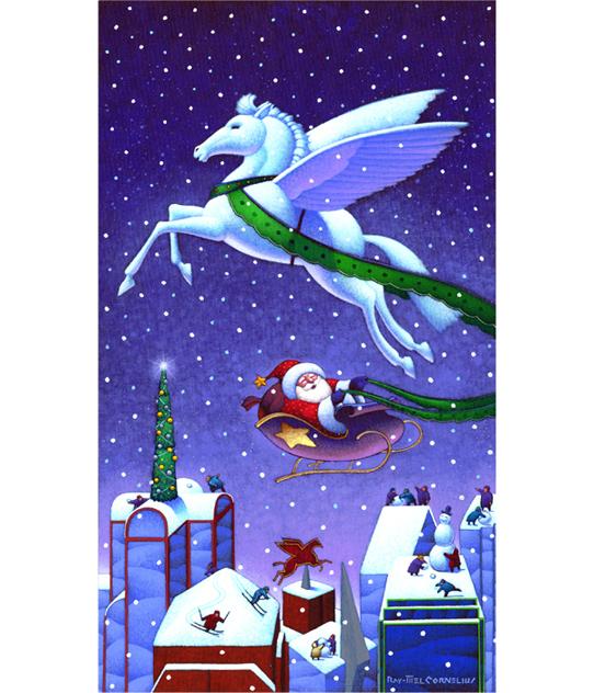 Christmas Pegasus