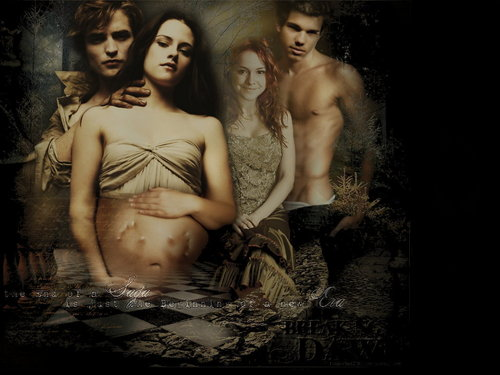 Creepy Fanmade Breaking Dawn poster