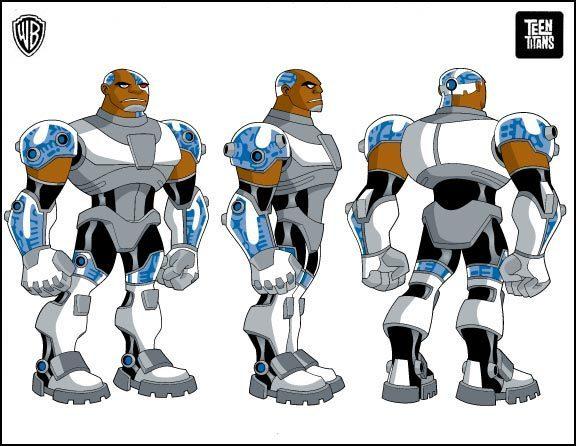 Cyborg Teen Titans 93