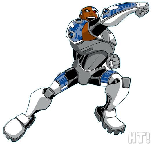 Cyborg Teen Titans 68