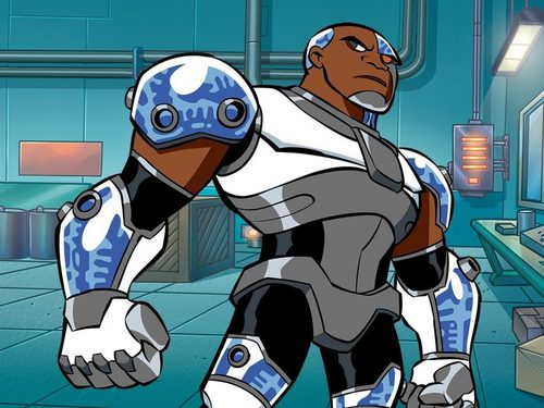 Teen Titans wallpaper containing anime entitled Cyborg