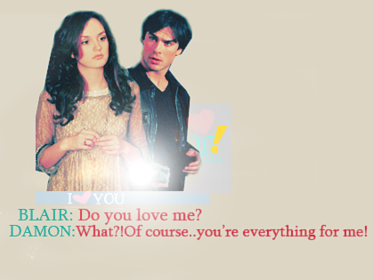 Damon and Blair