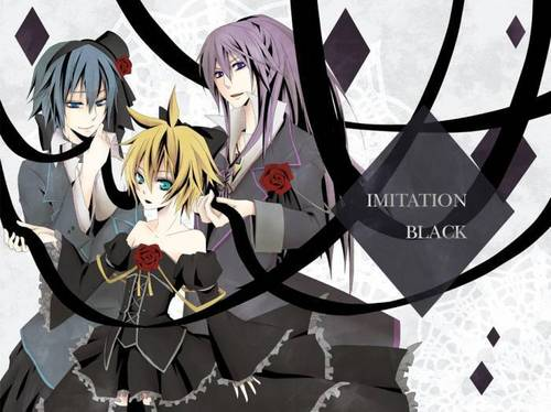 Dark afternoon vocaloid boys