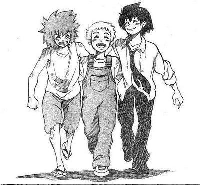 Darren, Evra, and Sam