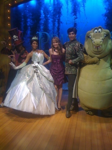 Debby Ryan And The Characters