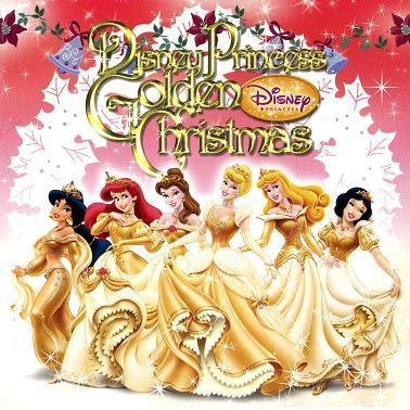 Disney Princess Golden Christmas