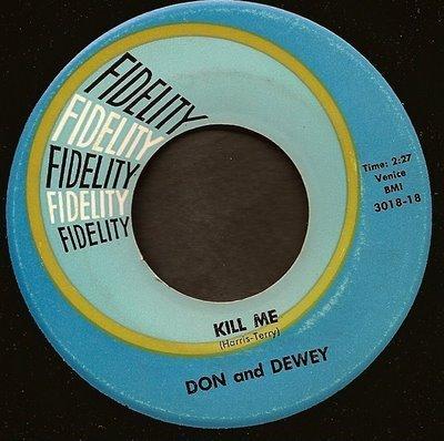 Don & Dewey ~ Kill Me