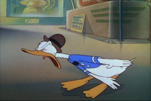 Donald canard fond d'écran containing animé entitled Donald canard - Modern Inventions