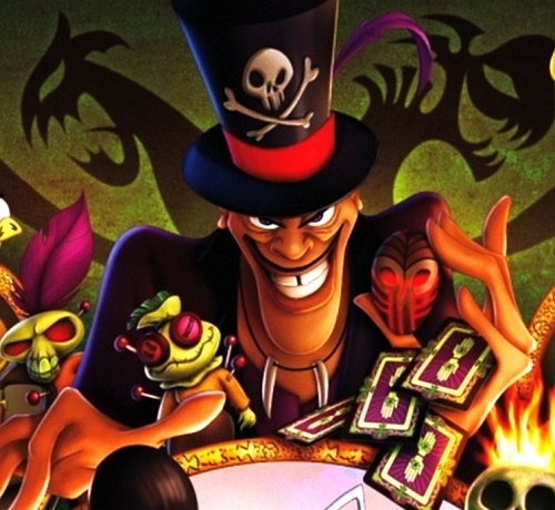 Disney Villains wallpaper with anime entitled Dr. Facilier- Master of Voodoo and Hoodoo