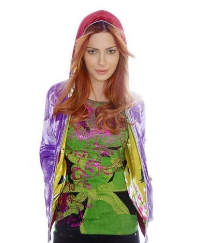 Elena Satine for Custo Barcelona