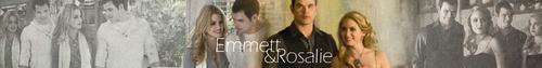 Emmett + Rosalie Banner