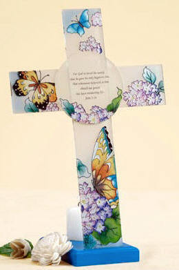For Susie,A Beautiful Butterfly Cross !