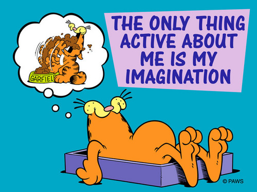 Imagination wallpaper with anime titled Garfield Speaks the Truth!