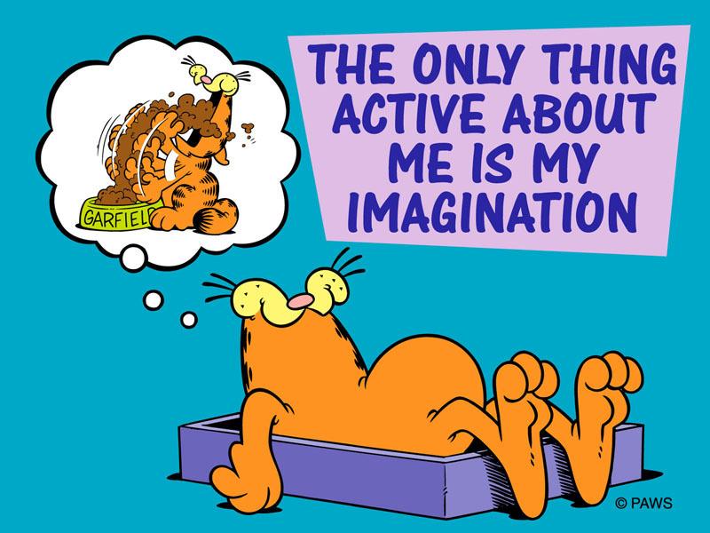 Garfield Speaks the Truth!