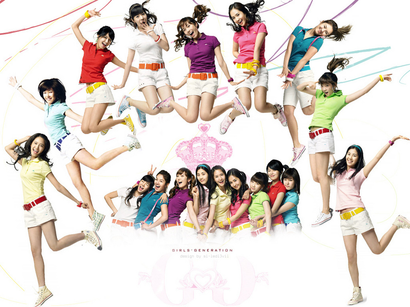 girls generation wallpaper. Girls Generation Circle