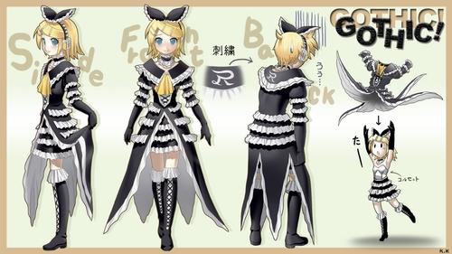 gothic Dress Rin