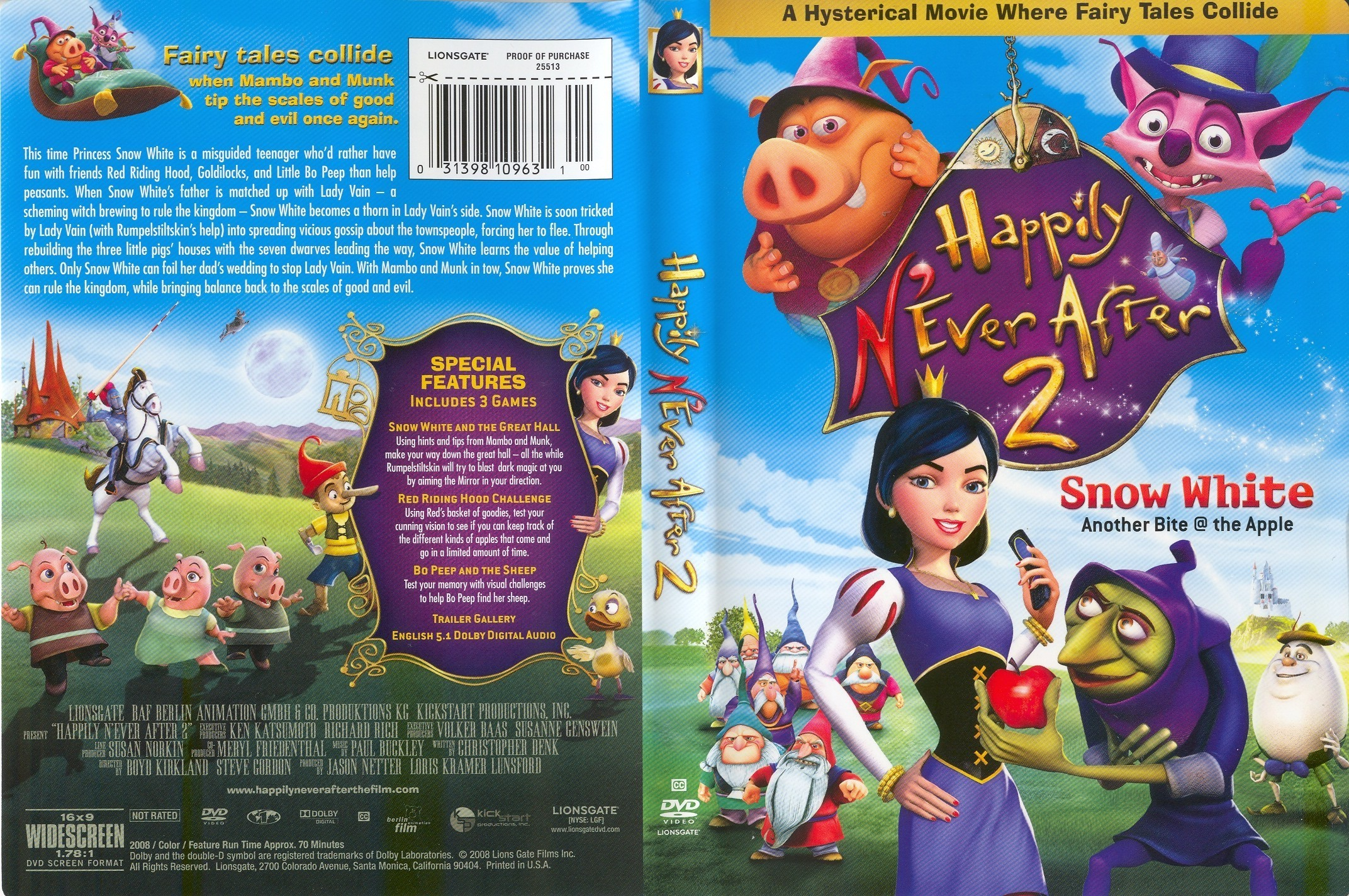 Happily N'ever After images Happily N'ever After 2 DVD HD wallpaper and  background photos