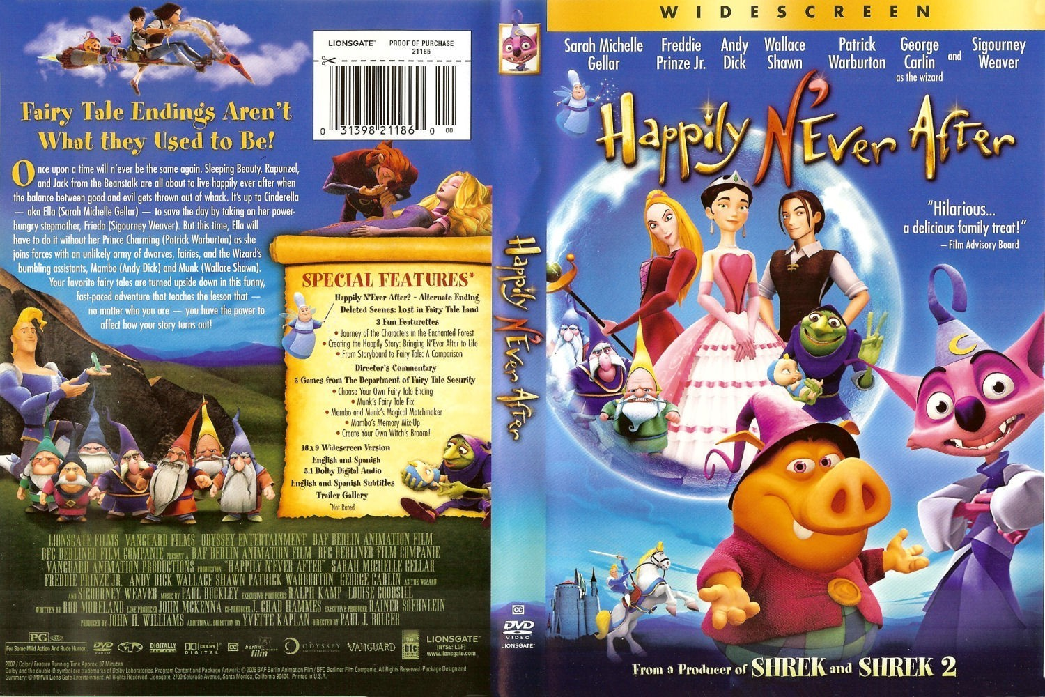 Happily N'ever After images Happily N'ever After DVD HD wallpaper and  background photos