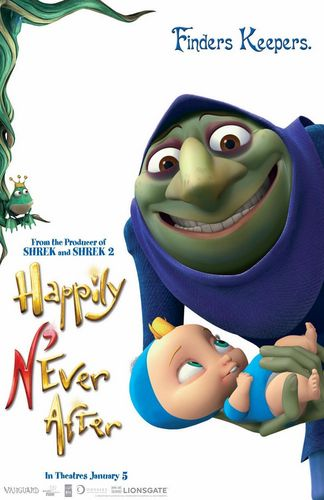 Happily N'ever After پیپر وال titled Happily N'ever After posters