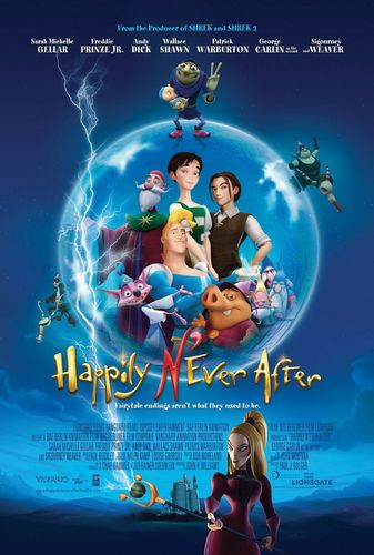 Happily N'ever After kertas dinding possibly with Anime titled Happily N'ever After posters