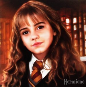 Hermione Granger wallpaper with a portrait called Hermione Fanart