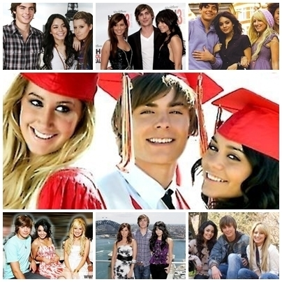 High School Musical 1, 2 and 3
