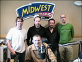 Hipple Street and Padraic Walsh in Midwest Radio - Ireland - April 2007