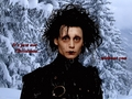 It's just not Christmas... - edward-scissorhands wallpaper