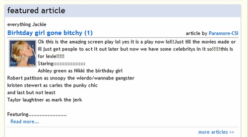 Jackie's bài viết Is Featured!!