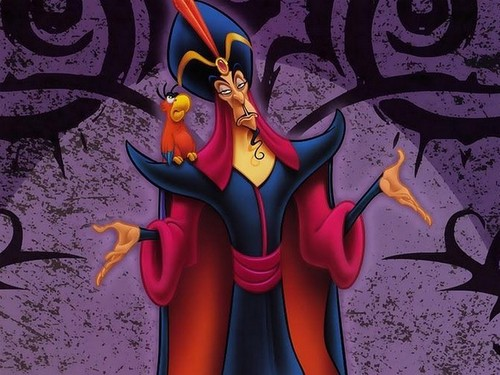 Disney Villains wallpaper probably containing anime titled Jafar