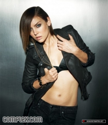 Jessica's photoshoot for 'Complex' - jessica-stroup photo