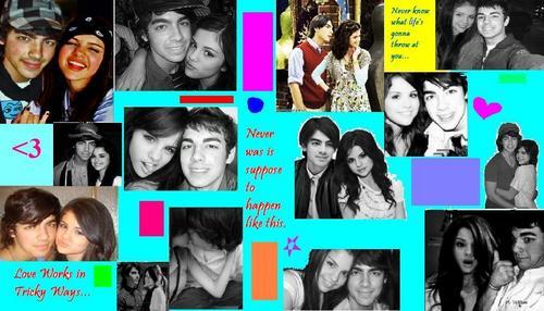Joe Jonas and Selena Gomez