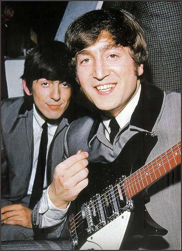 John and George 1964 RARE