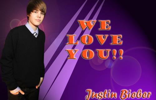 Justin Bieber tagahanga sign