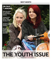Kathryn Prescott and Lily Loveless in Diva Magazine - skins photo