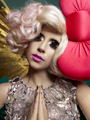 Lady GaGa - Hello Kitty Photoshoots