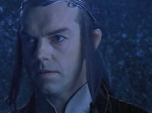 Elrond Lord Of The Rings Headshot