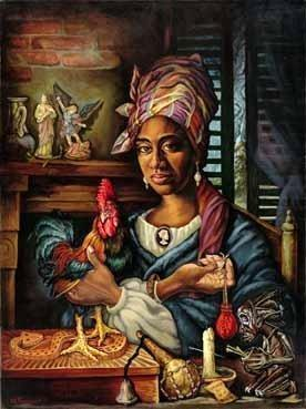 Marie LaVeau- Voodoo Queen of New Orleans - witchcraft Photo