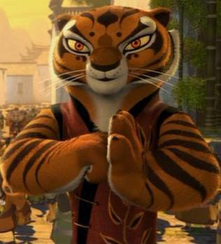 Kung fu panda tiger - photo#15