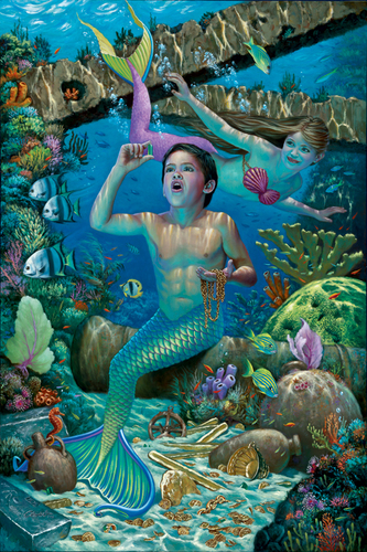 mga sirena of Atlantis Séries