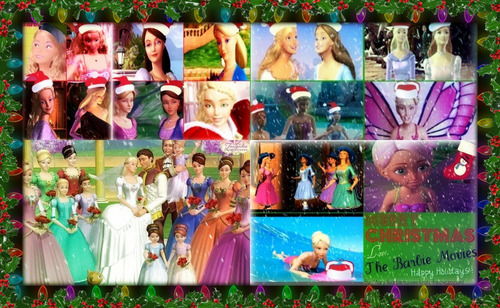 Merry Christmas Barbie Movies!