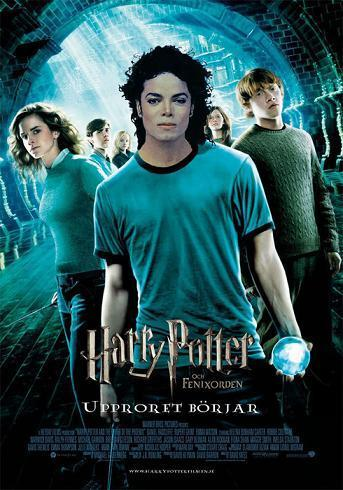 "Michael Jackson wallpaper probably with a sign entitled Michael ""Potter"""
