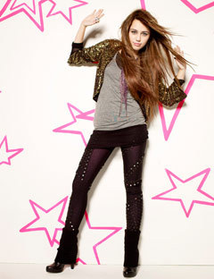 Disney Channel Girls wallpaper containing a well dressed person entitled Miley Cyrus
