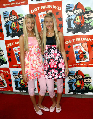 "Milly & Becky: Alvin and the Chipmunks ""Get Munk'd Tour 2008"" and DVD Release - Arrivals"