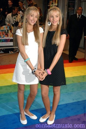 Milly & Becky;UK Premiere of 'Hairspray' held at the Odeon West End London, England - 05.07.07