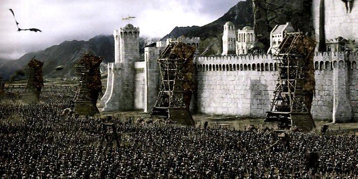 Minas Tirith Images Minas Tirith Wallpaper And Background Photos