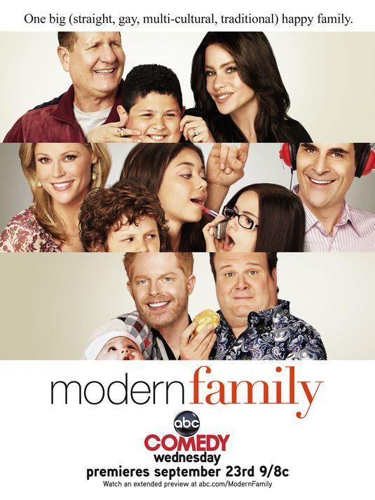 Modern Family Promotional Poster